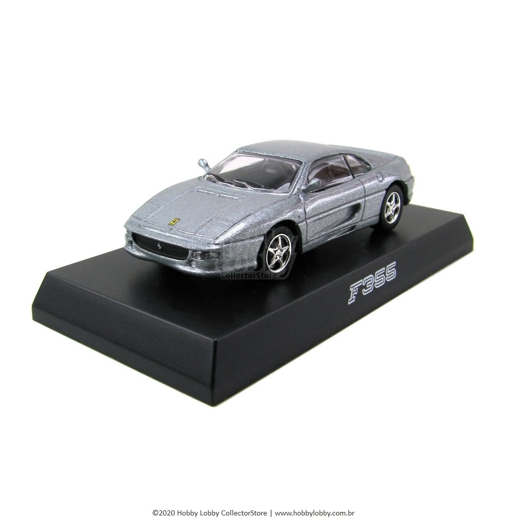 Kyosho - Ferrari Minicar Collection II - Ferrari F355 (Prata)