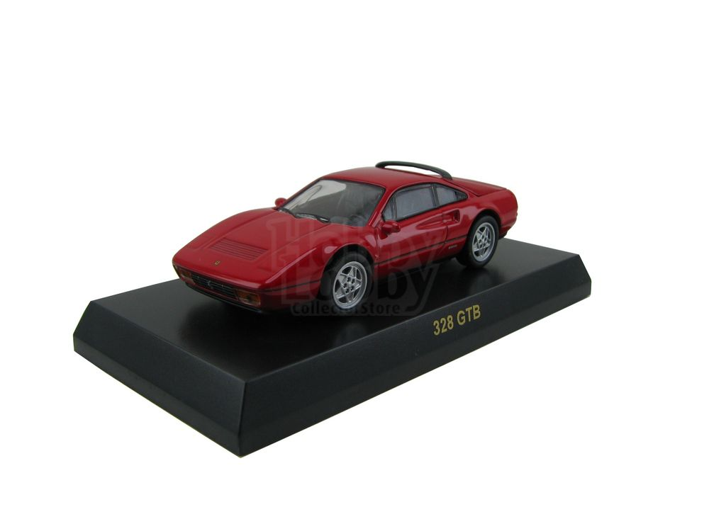 Kyosho - Ferrari Minicar Collection III - Ferrari 328 GTB [vermelha]  - Hobby Lobby CollectorStore