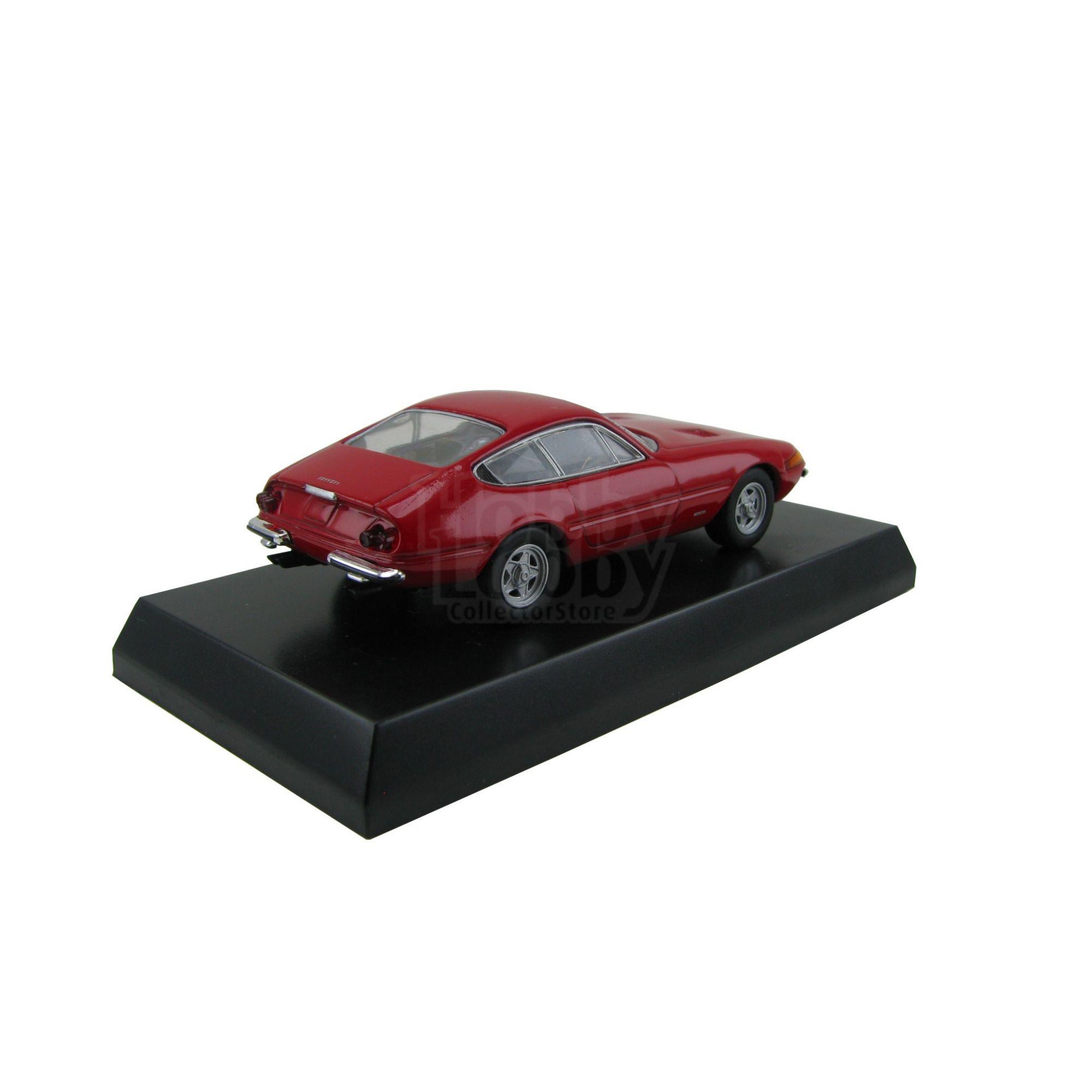 Kyosho - Ferrari Minicar Collection III - Ferrari 365 GTB4 (Daytona) [vermelha]  - Hobby Lobby CollectorStore