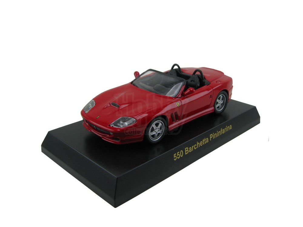 Kyosho - Ferrari Minicar Collection V - Ferrari 550 Barchetta Pininfarina [vermelha]  - Hobby Lobby CollectorStore