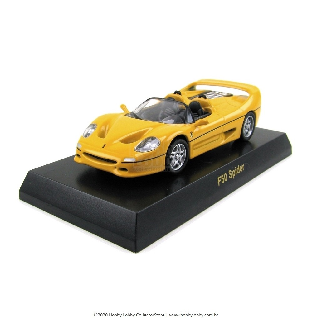 Kyosho - Ferrari Minicar Collection V - Ferrari F50 Spider [amarela]