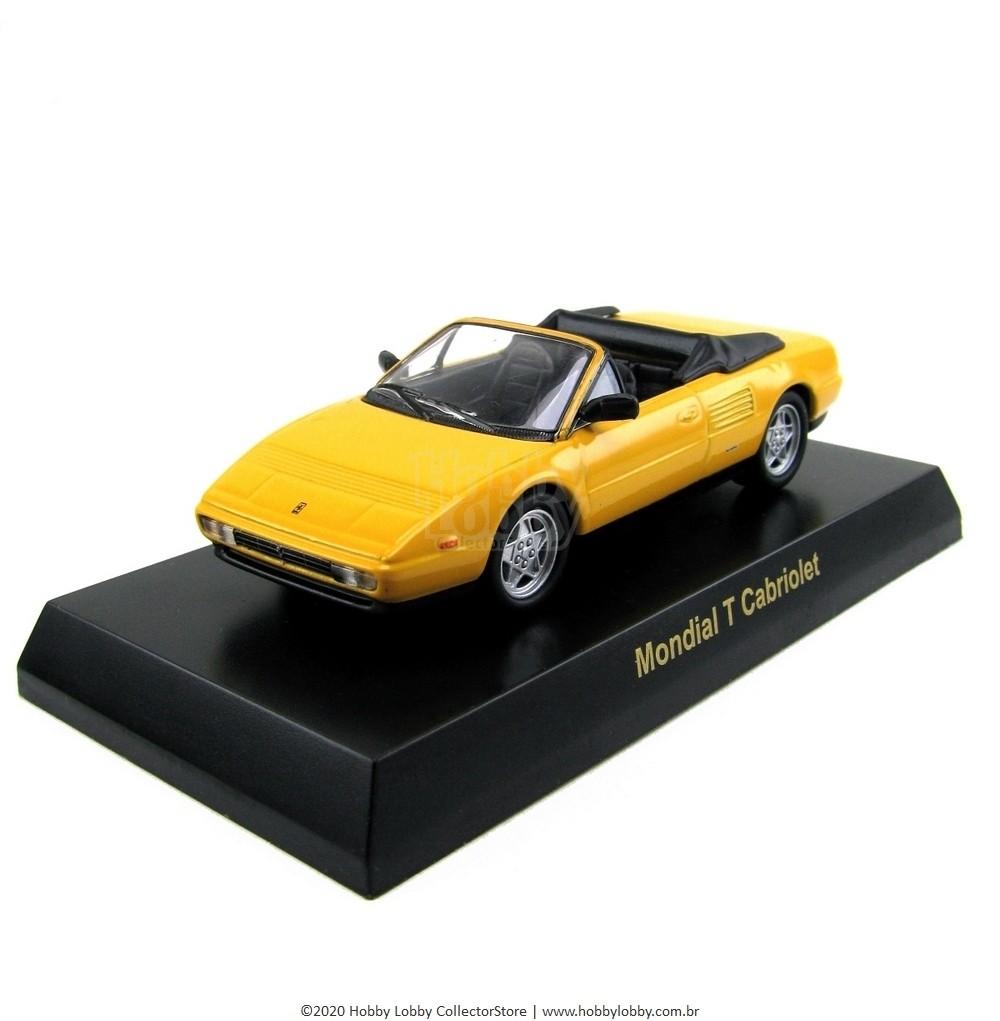 Kyosho - Ferrari Minicar Collection V - Ferrari Mondial T Cabriolet [amarela]