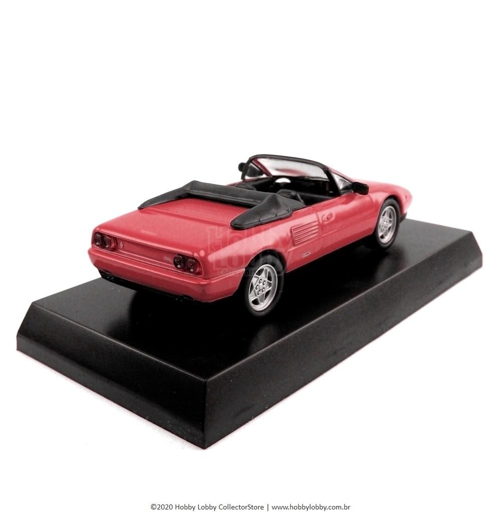 Kyosho - Ferrari Minicar Collection V - Ferrari Mondial T Cabriolet [vermelha]  - Hobby Lobby CollectorStore