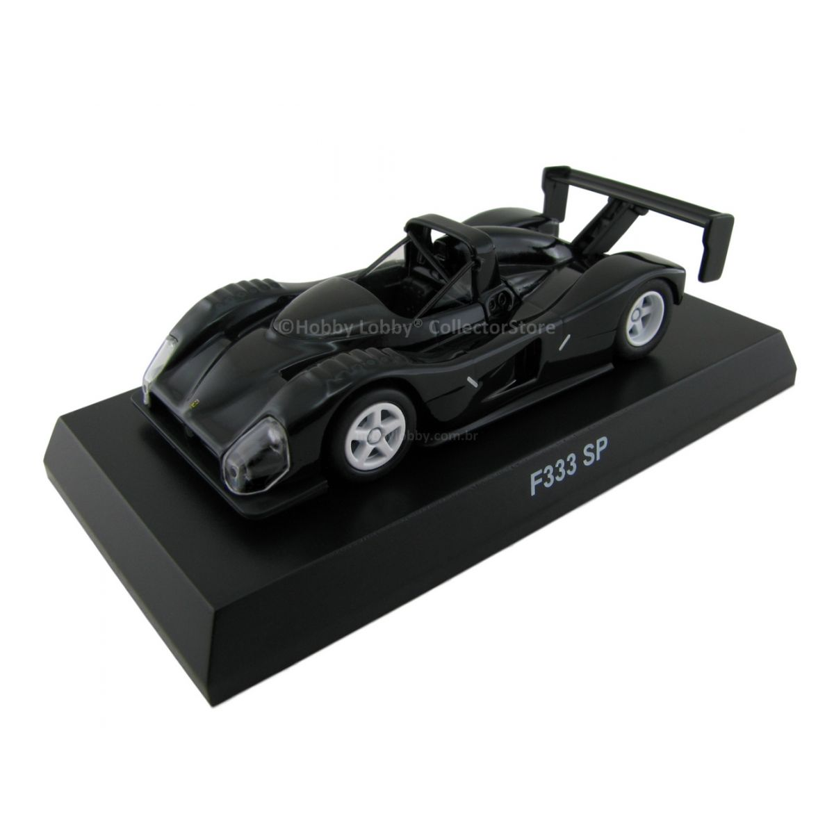 Kyosho - Ferrari Minicar Collection VI - Ferrari F333 SP [preta]  - Hobby Lobby CollectorStore
