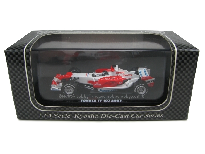 Kyosho - Beads Collection - Toyota TF 107 2007  - Hobby Lobby CollectorStore