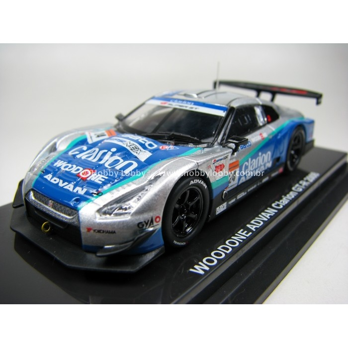 Kyosho - Beads Collection - Woodone Advan Clarion GT-R 2008