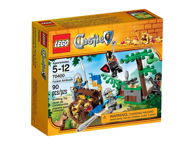 Lego Castle - Armadinha na Floresta - Ref: 70400  - Hobby Lobby CollectorStore