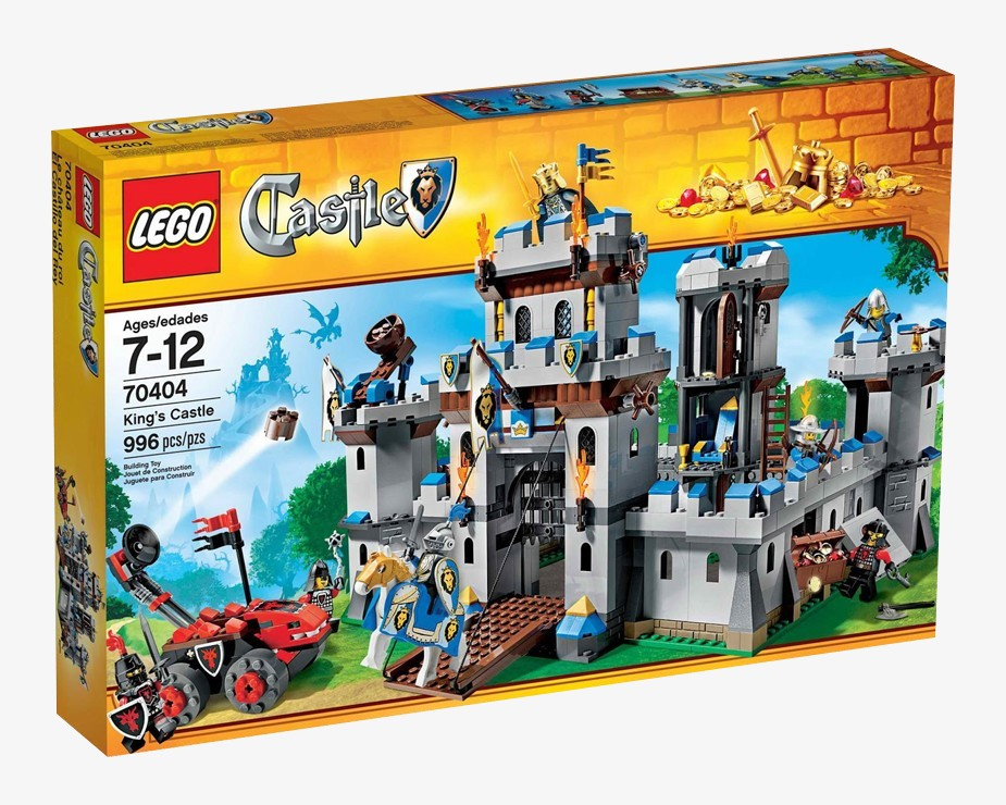 Lego Castle - Castelo do Rei - Ref.:70404