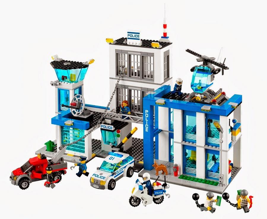Lego City - Distrito Policial - Ref: 60047  - Hobby Lobby CollectorStore