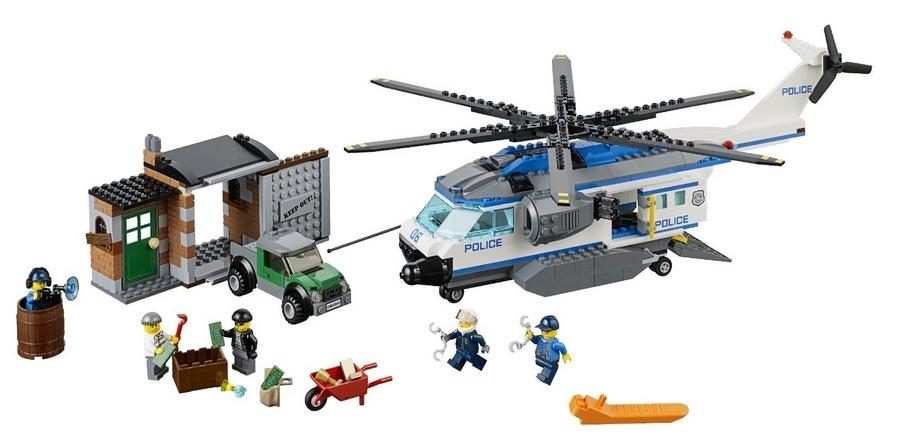 Lego City - Vigilância de Helicóptero - Ref: 60046  - Hobby Lobby CollectorStore