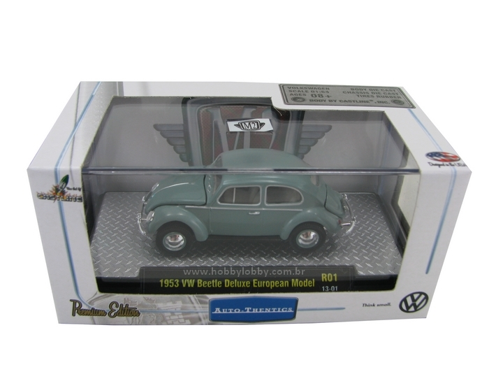 M2 Machines - 1953 VW Beetle DeLuxe European Model