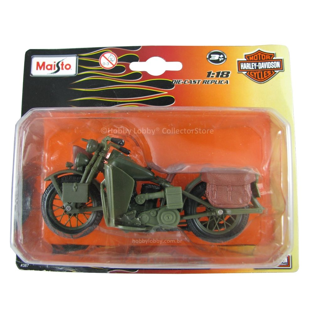 Maisto - Harley-Davidson - 1942 WLA Flathead   - Hobby Lobby CollectorStore