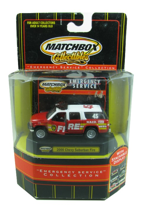 Matchbox - 2000 Chevy Suburban Fire