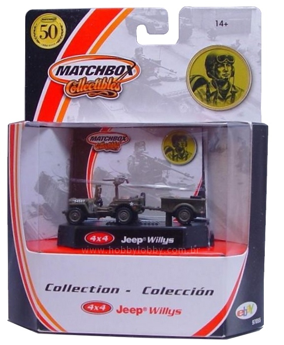 Matchbox - 4x4 Jeep Willys Military  - Hobby Lobby CollectorStore