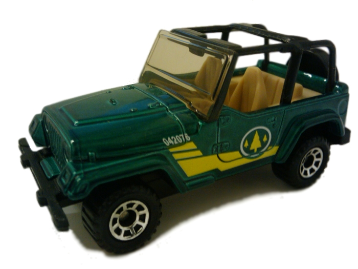 Matchbox - Coleção 1999 - ´98 Jeep Wrangler  - Hobby Lobby CollectorStore