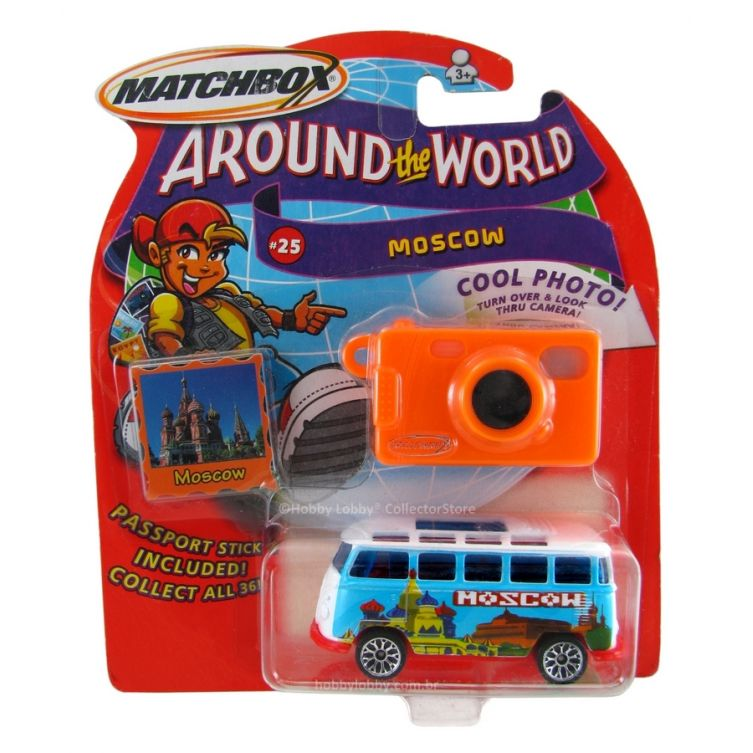 Matchbox - Around the World - 1967 VW TRANSPORTER