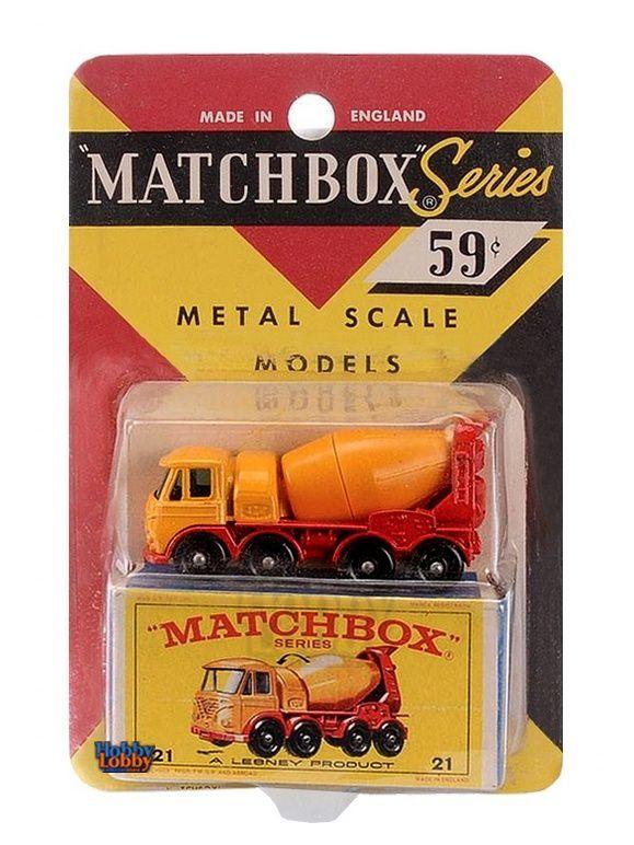 Matchbox - Coleção 1965 - Foden Cement Truck  - Hobby Lobby CollectorStore