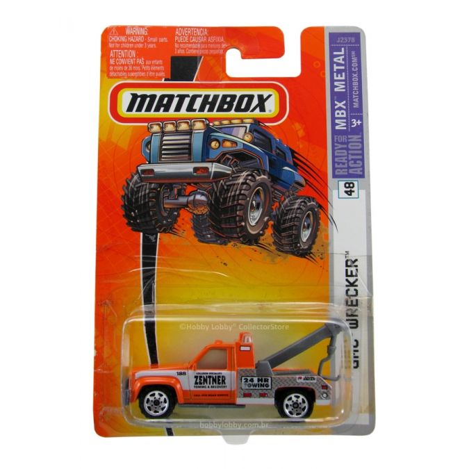 Matchbox - Coleção 2006 - GMC Wrecker