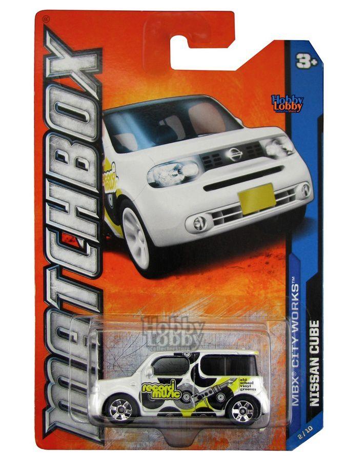 Matchbox - Coleção 2012 - Nissan Cube
