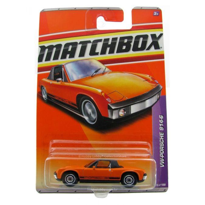 Matchbox - Coleção 2011 - VW Porsche 914