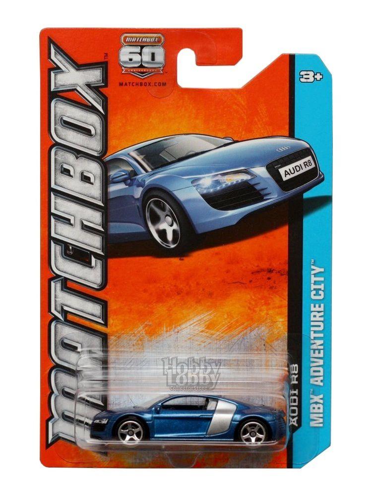 Matchbox - Coleção 2013 - Audi R8  - Hobby Lobby CollectorStore