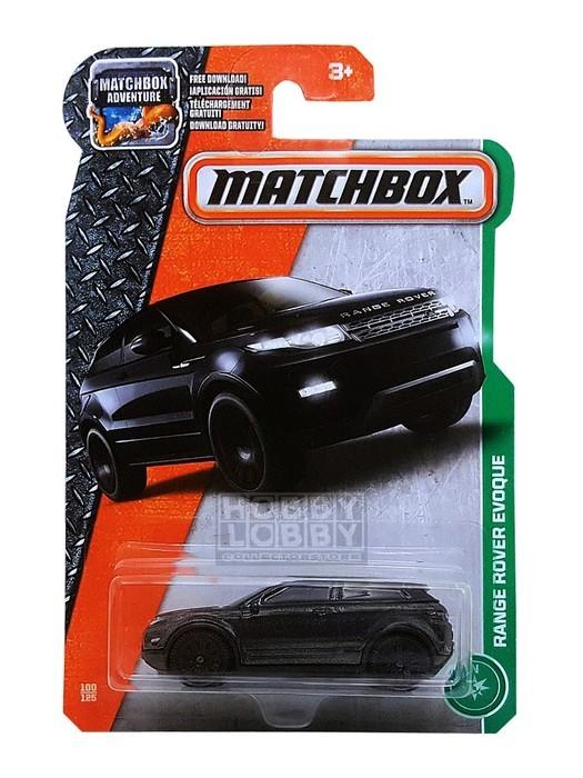 Matchbox - Coleção 2017 - Range Rover Evoque