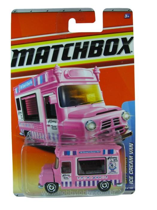 Matchbox - Coleção 2011 - Ice Cream Van  - Hobby Lobby CollectorStore