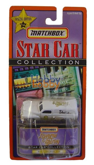 Matchbox - Star Car Collection - Shotz Brewery Van  - Hobby Lobby CollectorStore
