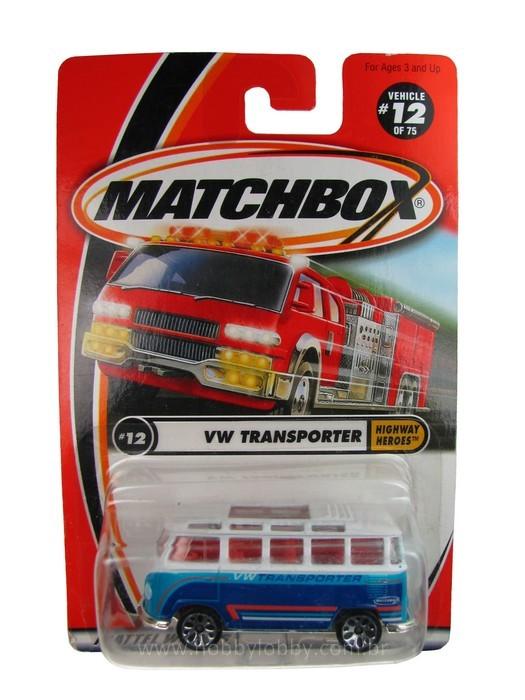 Matchbox - Coleção 2001 - VW Transporter