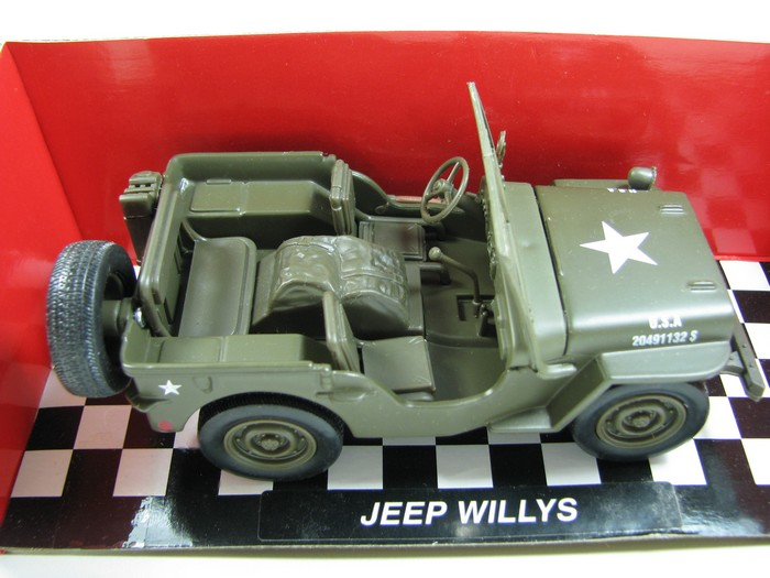 NewRay - Jeep Willys  - Hobby Lobby CollectorStore