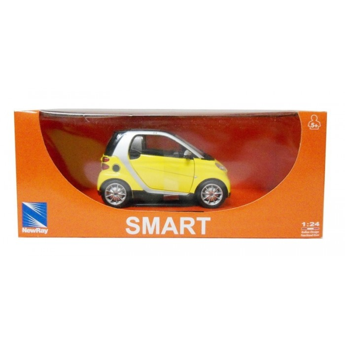 NewRay - Smart For Two [amarelo]  - Hobby Lobby CollectorStore