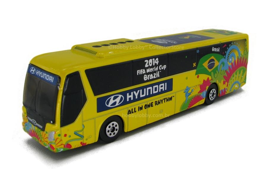 Onibus Oficial da Seleção Brasileira  Fifa 2014 - Brasil  - Hobby Lobby CollectorStore