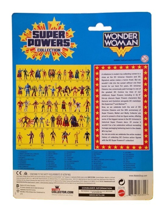 Super Power - Wonder Woman - Hobby Lobby CollectorStore