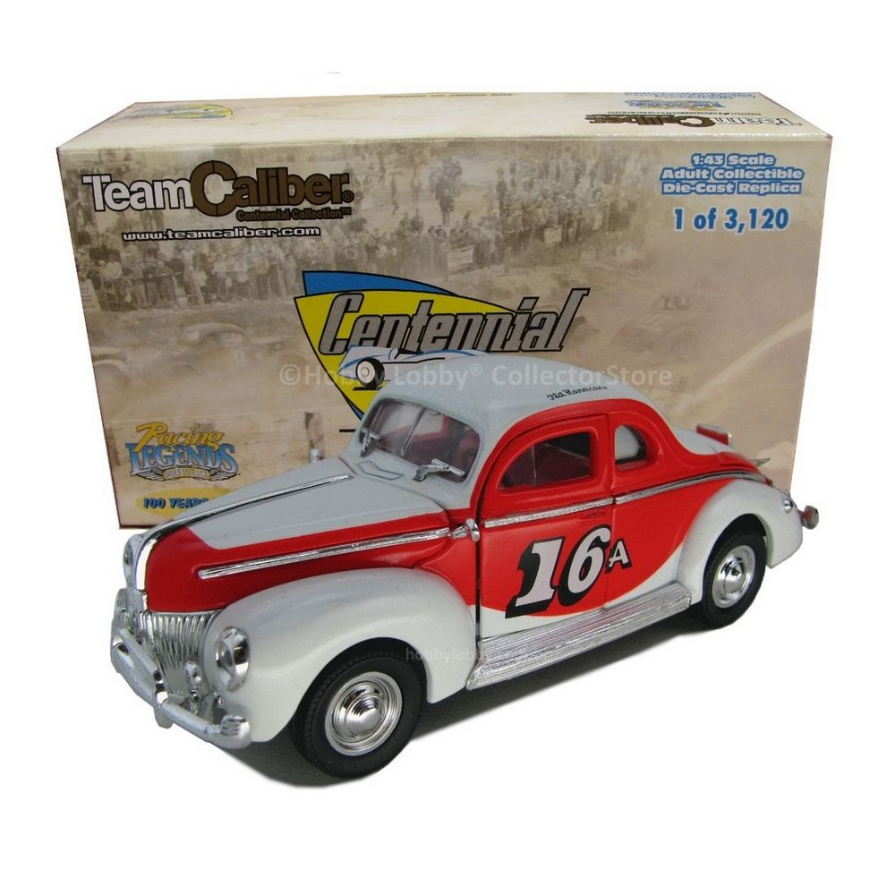 Team Caliber - 1940 Buck Baker Ford Coupe  - Hobby Lobby CollectorStore