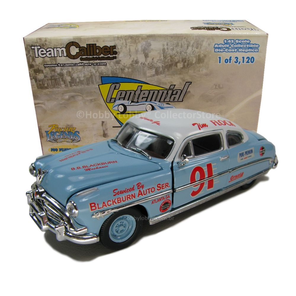 Team Caliber - 1952 Hudson Hornet - Tim Flock/Jocko