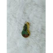 Aplique em acrílico espelhado - Boneco de neve - 7cm (5 unidades) - Natal