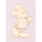 Aplique em acrílico espelhado - Mickey 02 - 5cm (5 unidades)