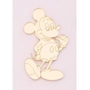 Aplique em acrílico espelhado - Mickey 02 - 7cm (5 unidades)