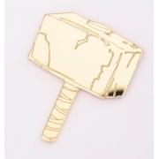 Aplique em acrílico espelhado - Thor Martelo - 5cm (5 unidades)