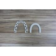 Arco -íris decorado 02 - Chipboard - Kit com 4 peças - Design by Megui