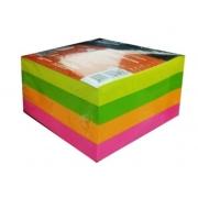 Bloco de Recado Autoadesivo Jocar Colorido 76X76 c/ 400 folhas - LEONORA