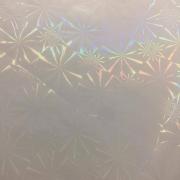 Bopp 3d Holográfico - Snowflake - Laminação a Quente - 33cm - 9 metros - OUTLET