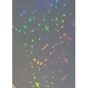 Bopp 3d Holográfico - Star - Laminação a Quente - 33cm - 10 metros