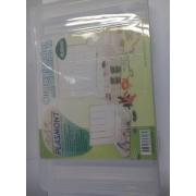 Caixa Organizador Plastico M com 11 Divisorias 27 x 17 x 4 cm