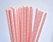 Canudo de papel de poá c/ 16 unidades - OUTLET