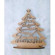 Enfeite de Natal em MDF - Árvore de Natal 03 - Natal
