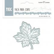Faca Para Corte Elegance - Pequena - Folha de Carvalho - Toke e Crie