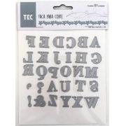 Faca para Corte - Extra Grande - Alfabeto - Toke e Crie