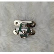 Fecho Baú para cadeado 3,5x4,5mm - A27/11A- Outlet