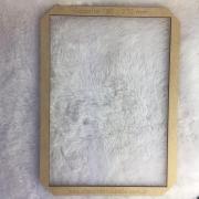 Gabarito MDF tipo moldura -  19x27cm - Planner II - Encadernação e Cartonagem